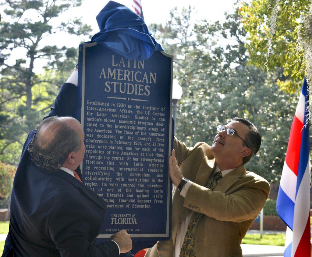 Latin American Studies Marker Ceremony
