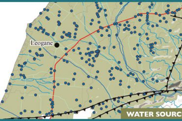 water source study in Haiti graph