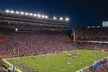 UF Gator football field