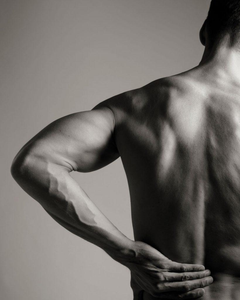 Back pain; Photo Credits: iStock