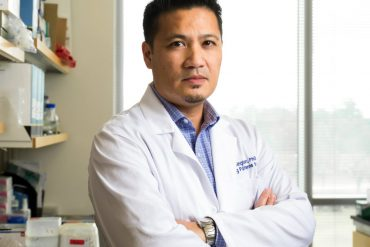 Rhoel Dinglasan, a faculty member in the College of Veterinary Medicine's department of infectious diseases and pathology associated with UF's Emerging Pathogens Institute