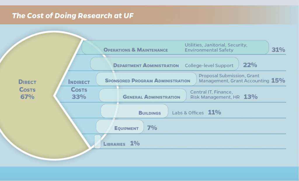 The Cost of Doing Research at UF