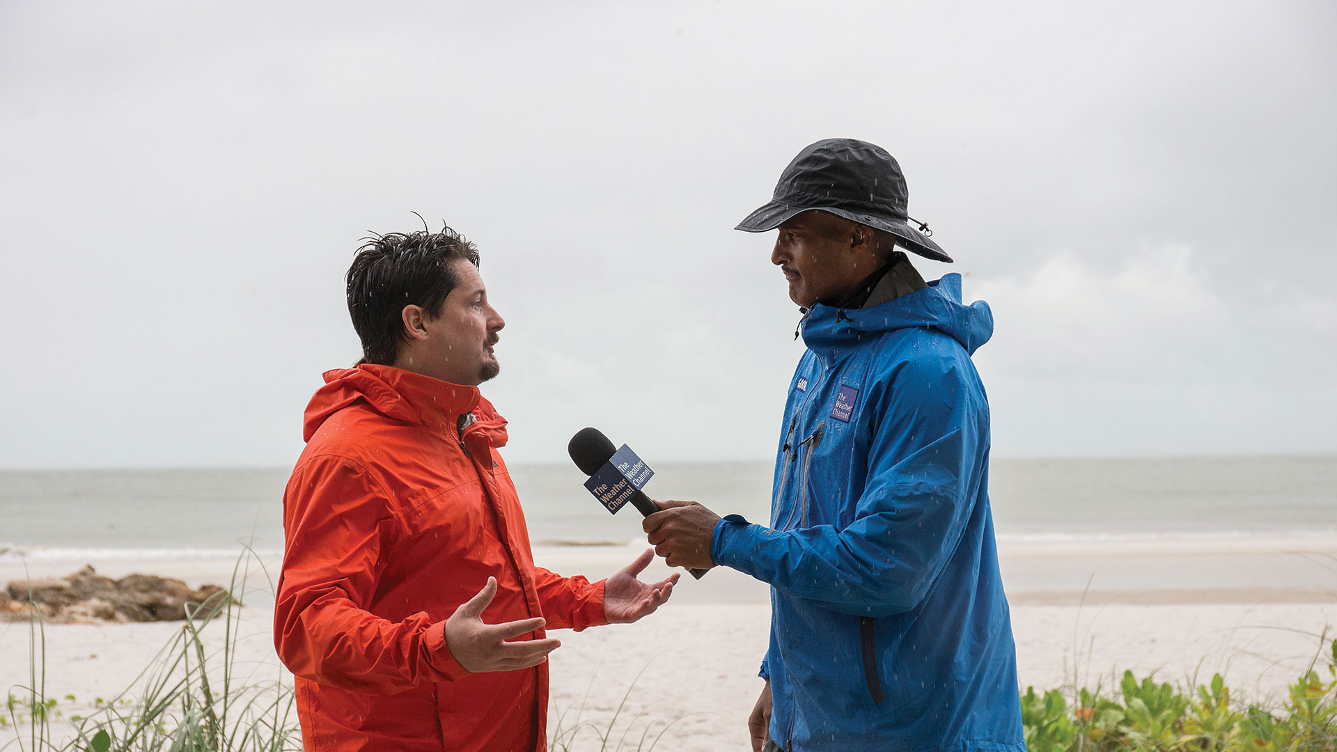 UF wind engineer and hurricane researcher Forrest Masters was interviewed on The Weather Channel after setting up research equipment in Irma's path in South Florida.