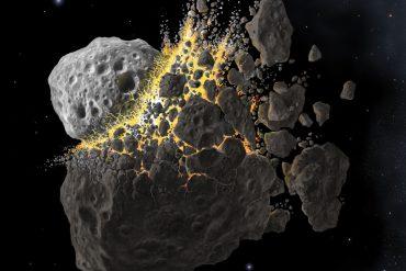 asteroid artwork