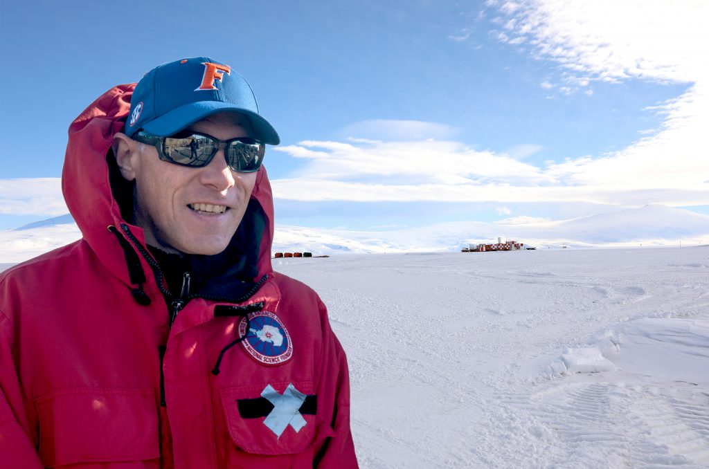 """""""What is the essence of Antarctica is covered by ice that is an average of two kilometers thick. Up to a decade or so ago, scientists thought it wasn't a place where life could exist, but this research clearly shows that life is abundant beneath the ice in Antarctica. It's the biggest wetland on our planet."""" -- Brent Christner"""