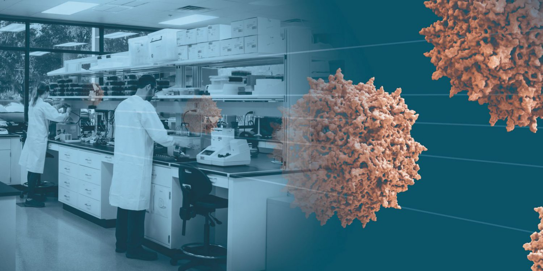 Brammar Bio Laboratory Illustration