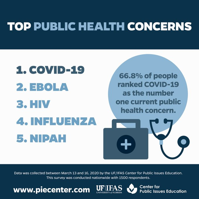 Top Public Health Concerns graphic