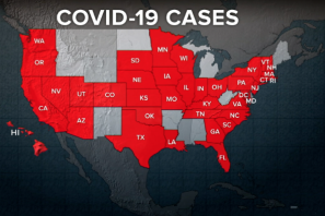 COVID-19 Cases US Map