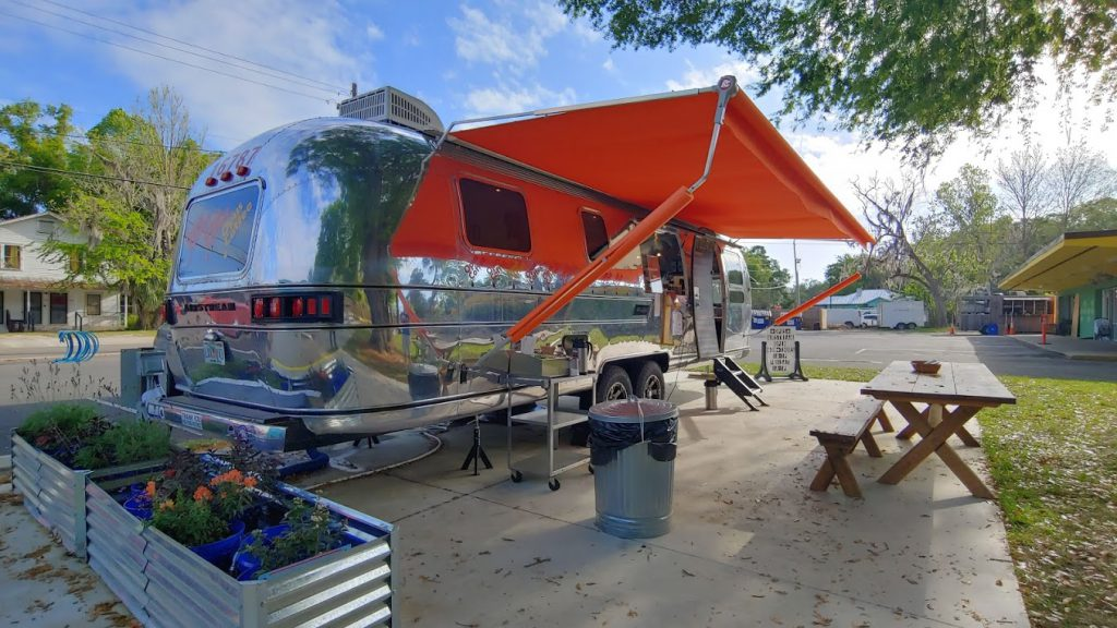 Opus Coffee's Airstream mobile coffee shop