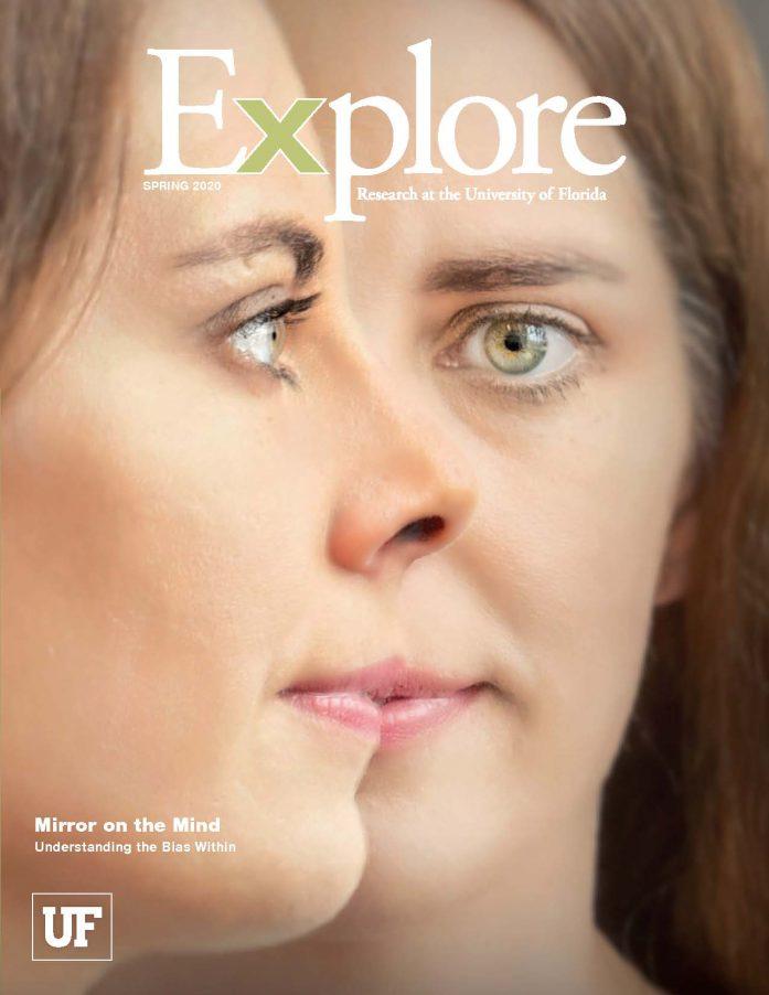 UF Explore Spring 2020 magazine cover