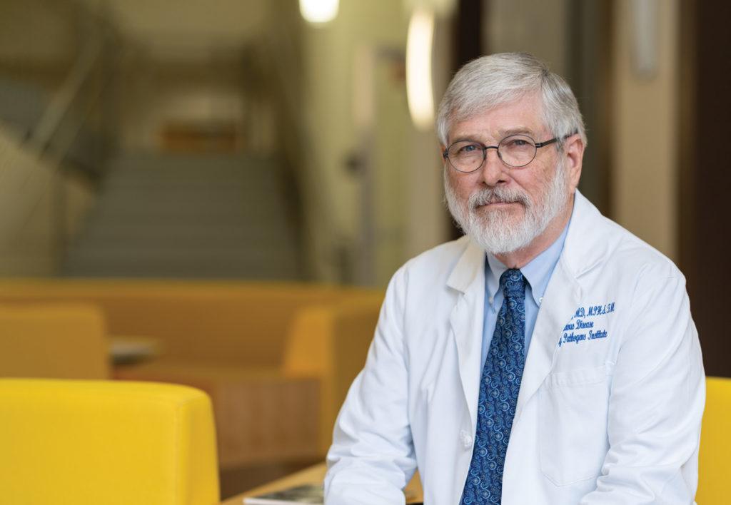 Dr. J. Glenn Morris, Director of UF's Emerging Pathogens Institute