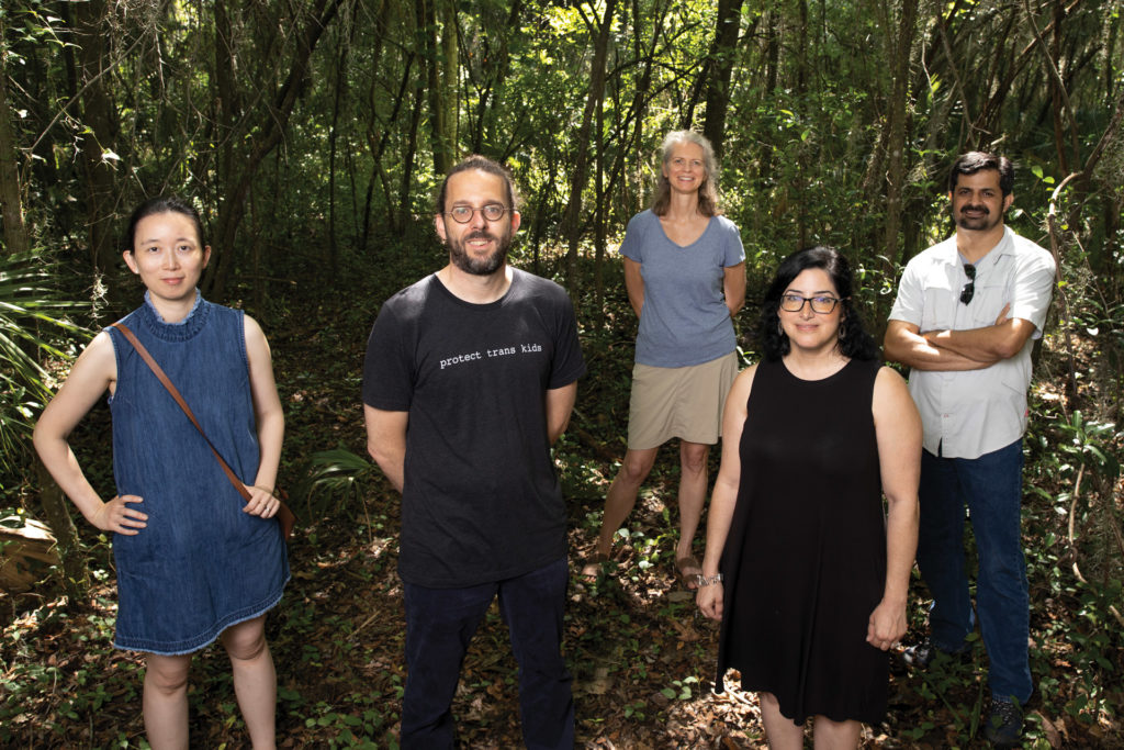 Group portrait of Ethan White's research collaborators